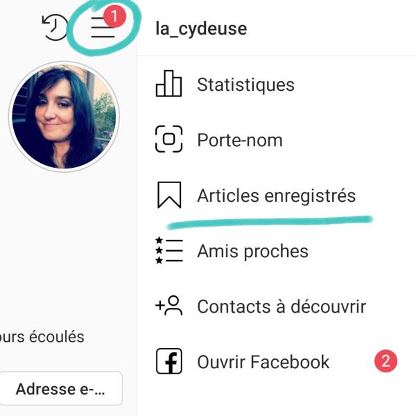 Enregistrer des posts Instagram, c'est possible?